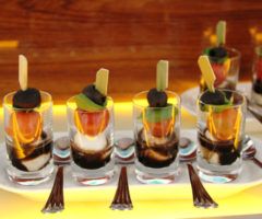canape 5- caprese shooter